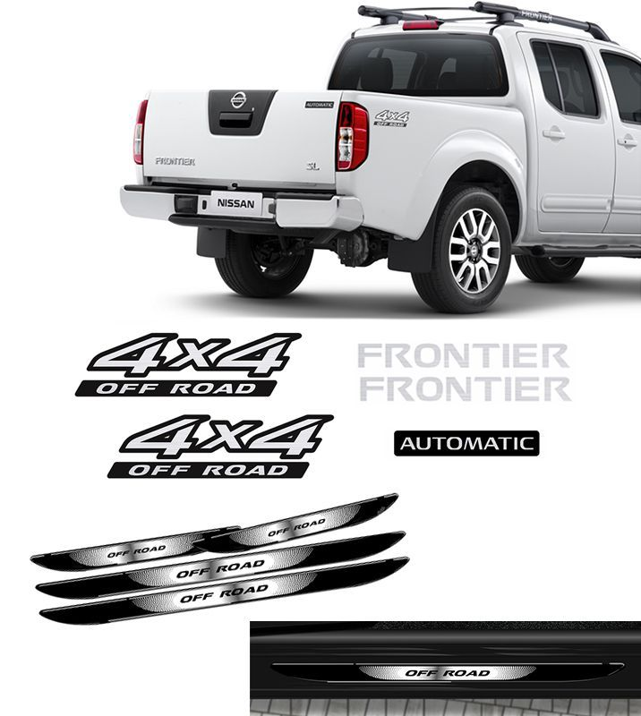Kit Frontier 4x4 Off Road Automatic 09/ + Soleira Da Porta