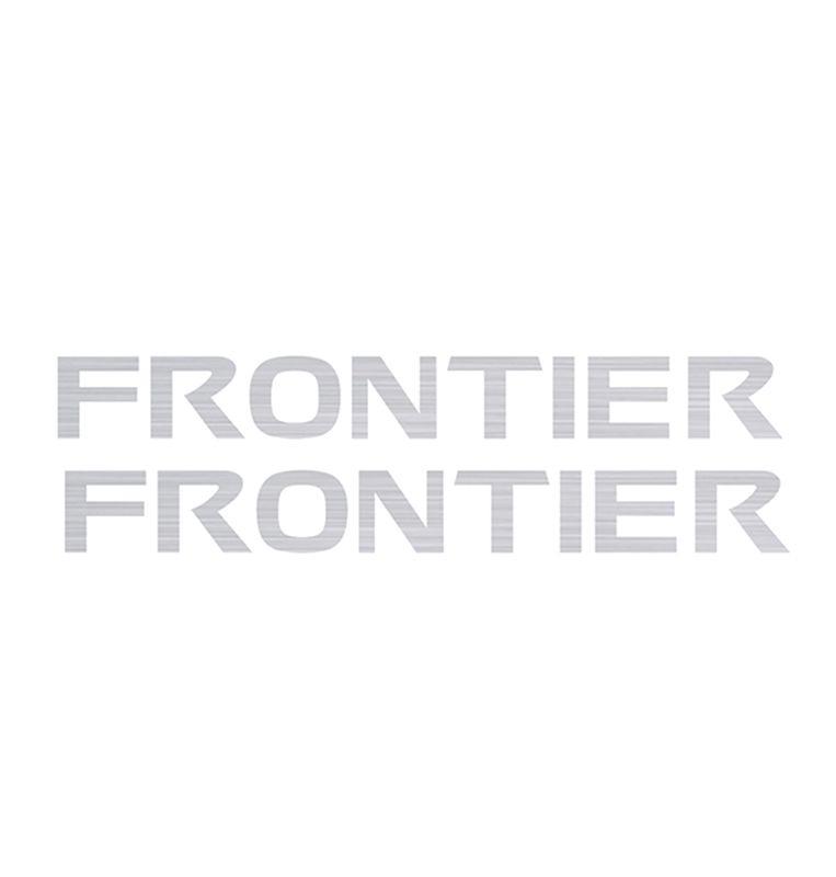 Kit Par Adesivos Teto Longarina Nissan Frontier Prata 12/