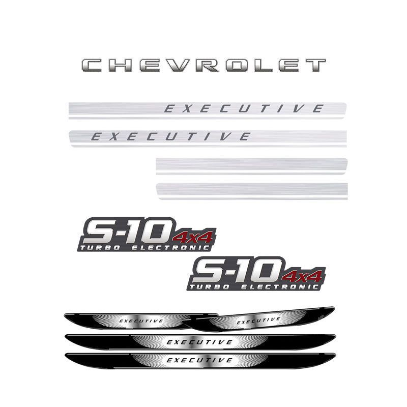 Kit S10 Executive Turbo Eletronic 4x4 + Soleira da Porta