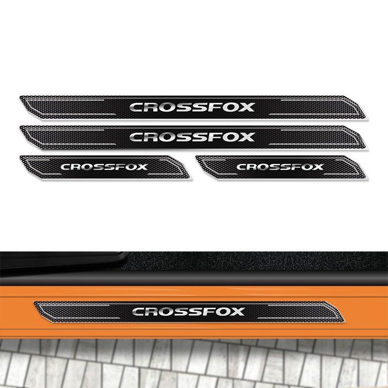 Kit Soleira Da Porta Diamante Crossfox Cross Fox Resinada