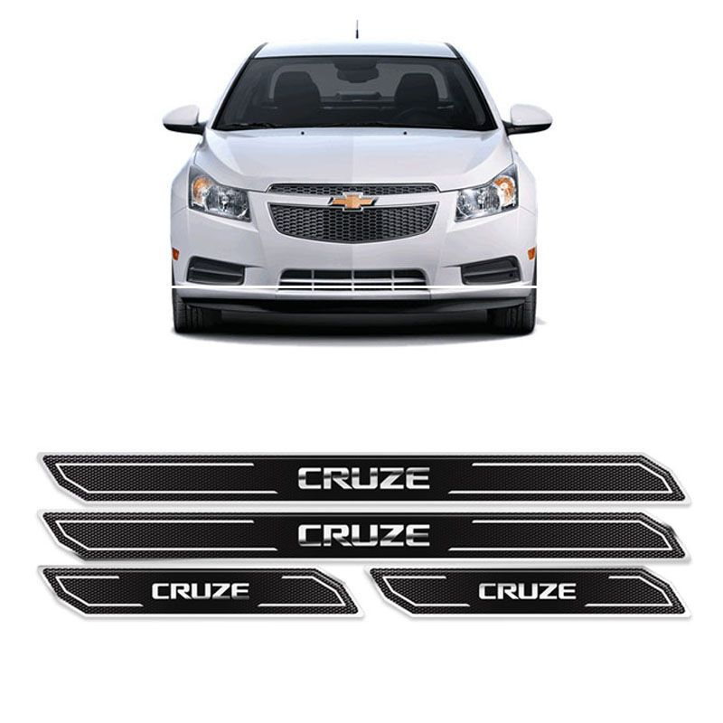 Kit Soleira Da Porta Diamante Cruze Hatch/Sedan Resinada