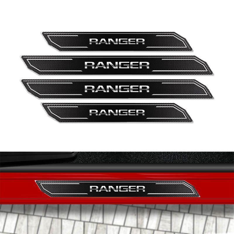 Kit Soleira Da Porta Diamante Ranger 2012 A 2019 Resinada