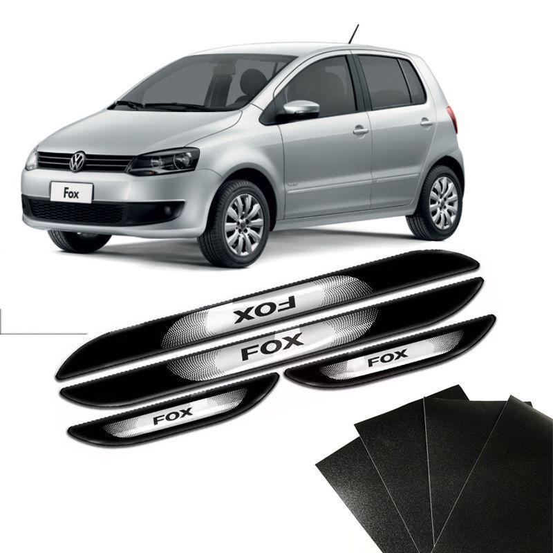Kit Soleira Da Porta Fox Com Black Over Resinado