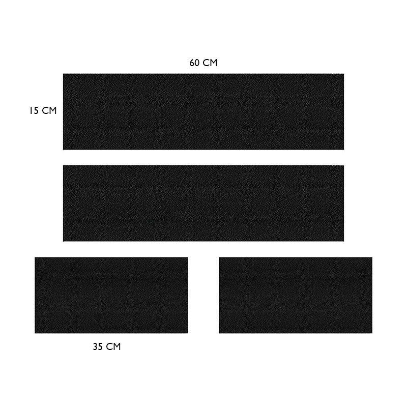 Kit Soleira Da Porta Hilux 05/ Com Black Over Resinado