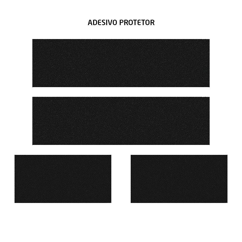 Kit Soleira Da Porta R-spec Com Black Over Resinado