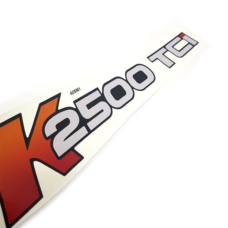 Par de Adesivos K2500 TCI KIA Bongo (Portas) Caminhão