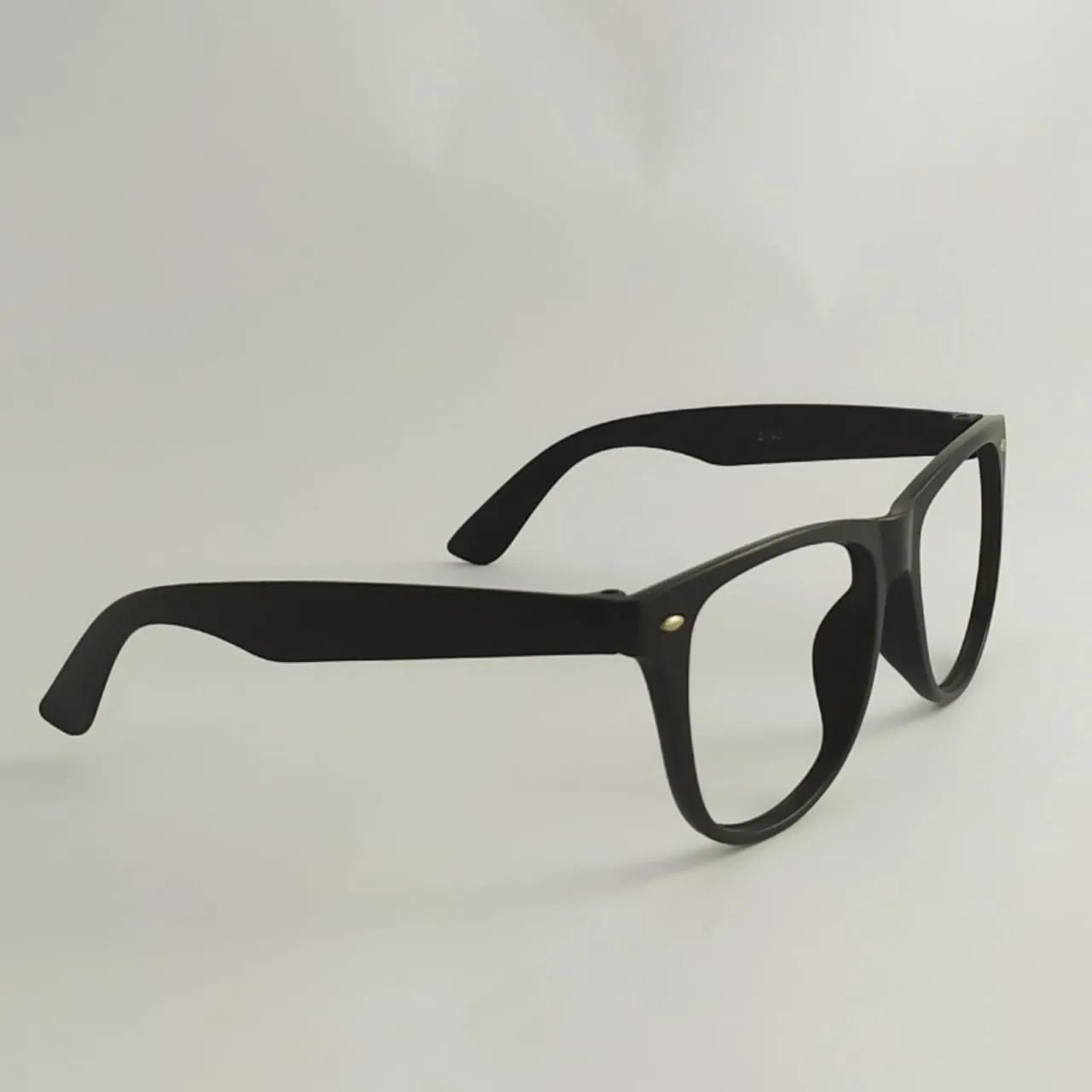 Armação de óculos de grau infantil - Preto redondo