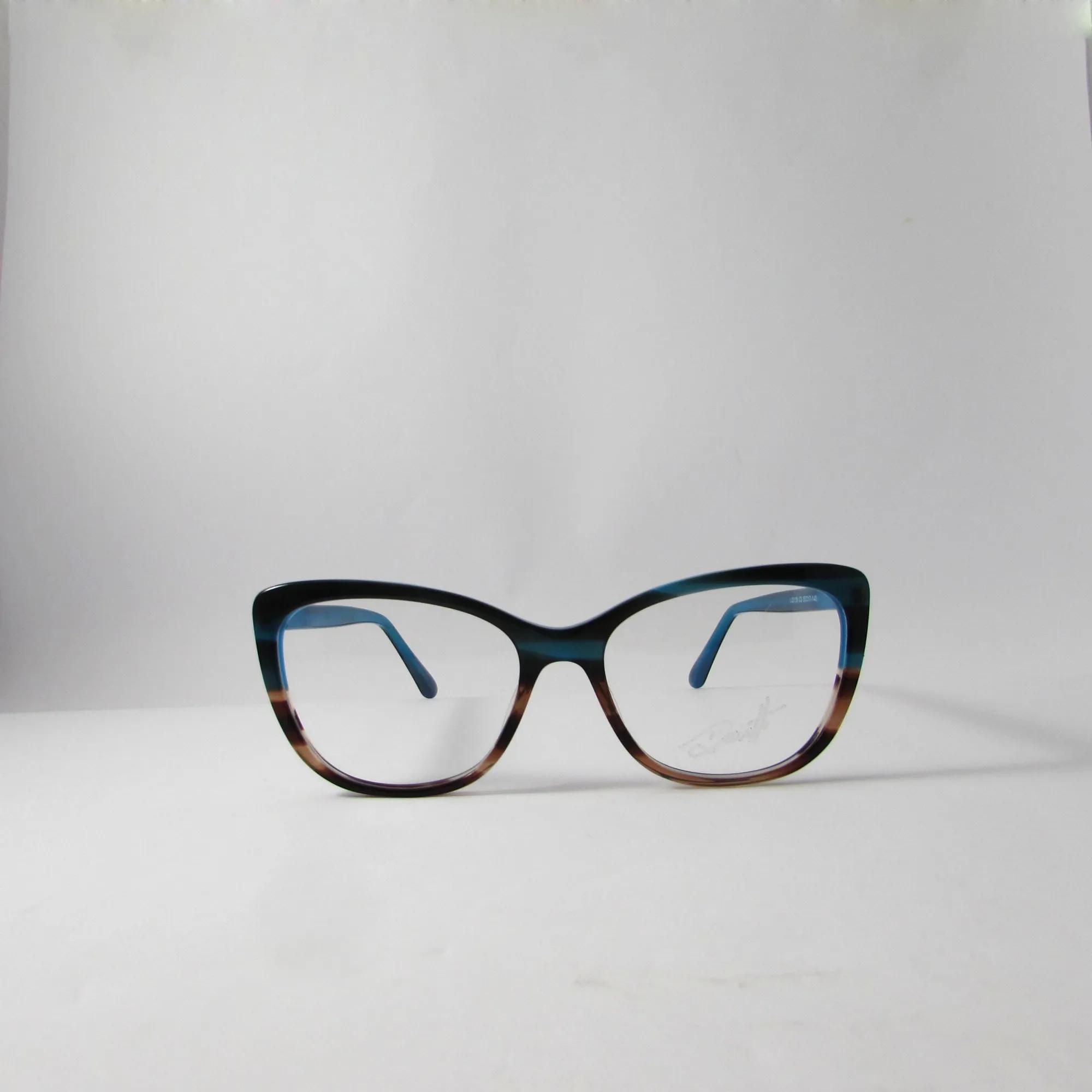 Armação óculos de grau feminino - Azul degrade