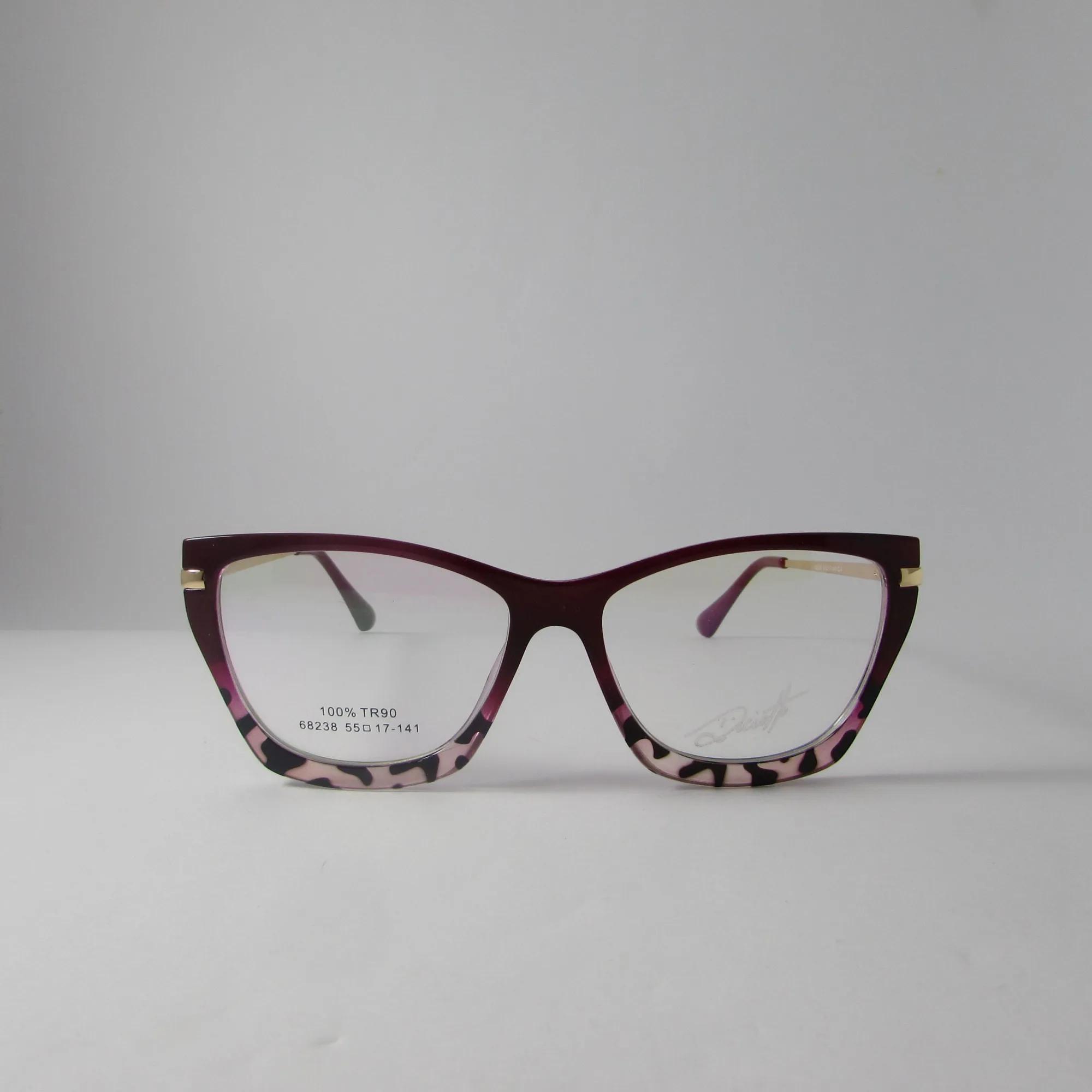 Armação óculos de grau feminino - Marsala estampado