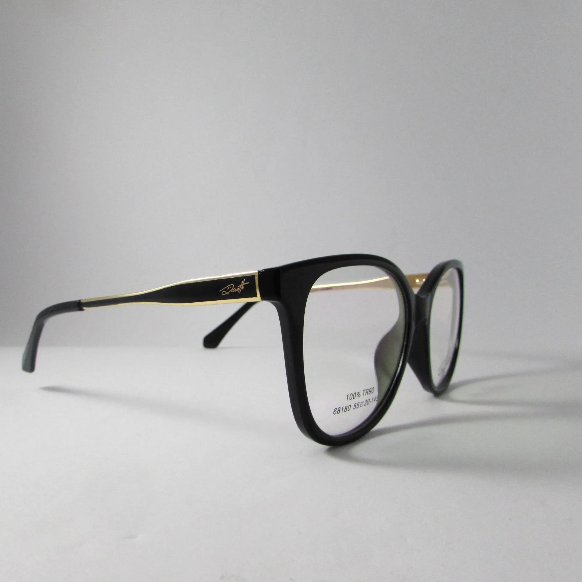 Armação Óculos de grau Feminino- Preto