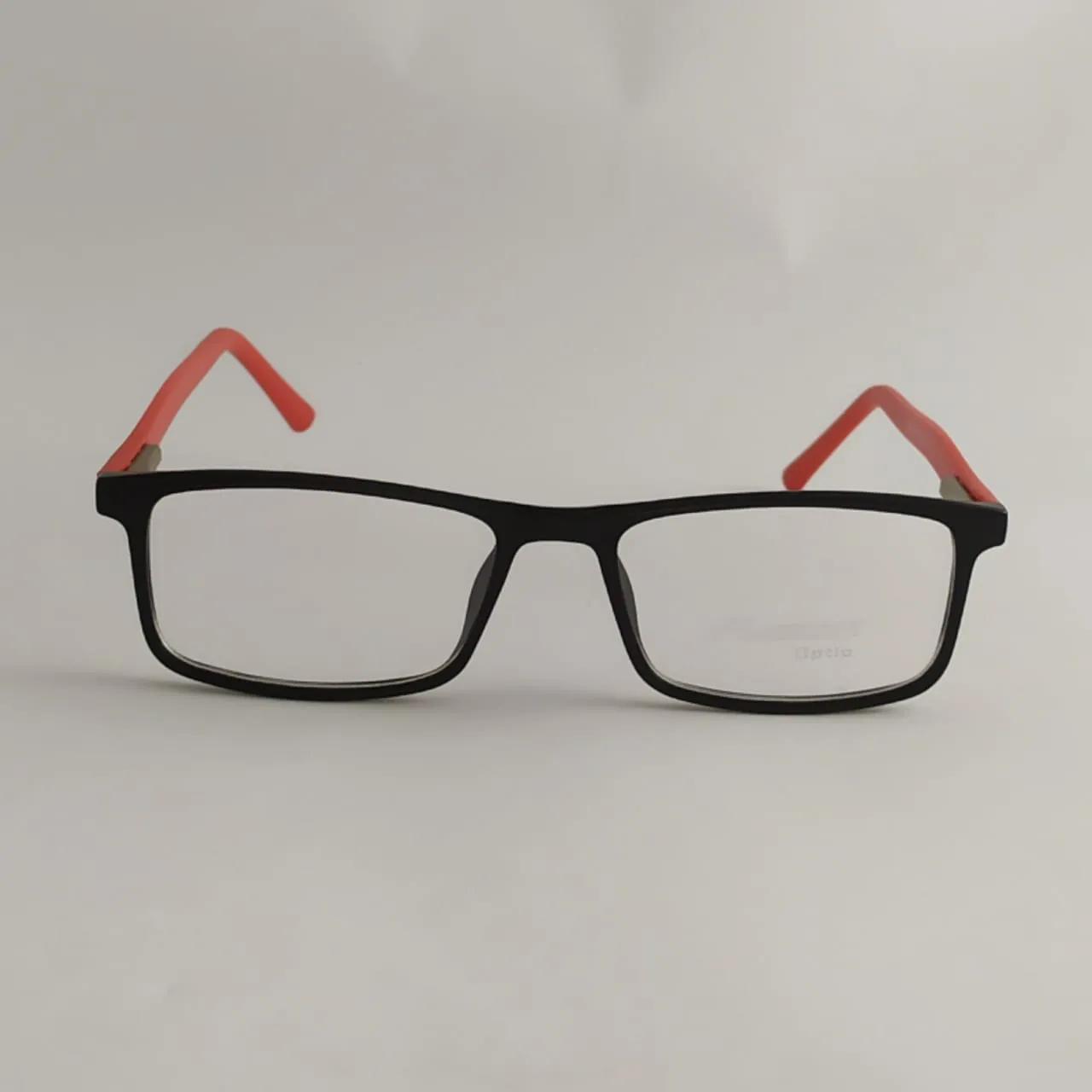 Armação Óculos de grau infantil Preto e vermelho