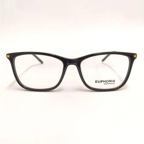 Armação Óculos de Grau Feminino Preto
