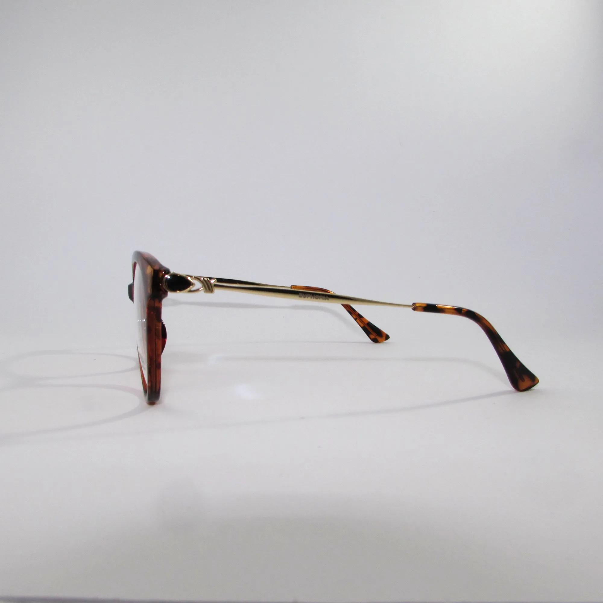 Armação para óculos de Grau feminina Marrom