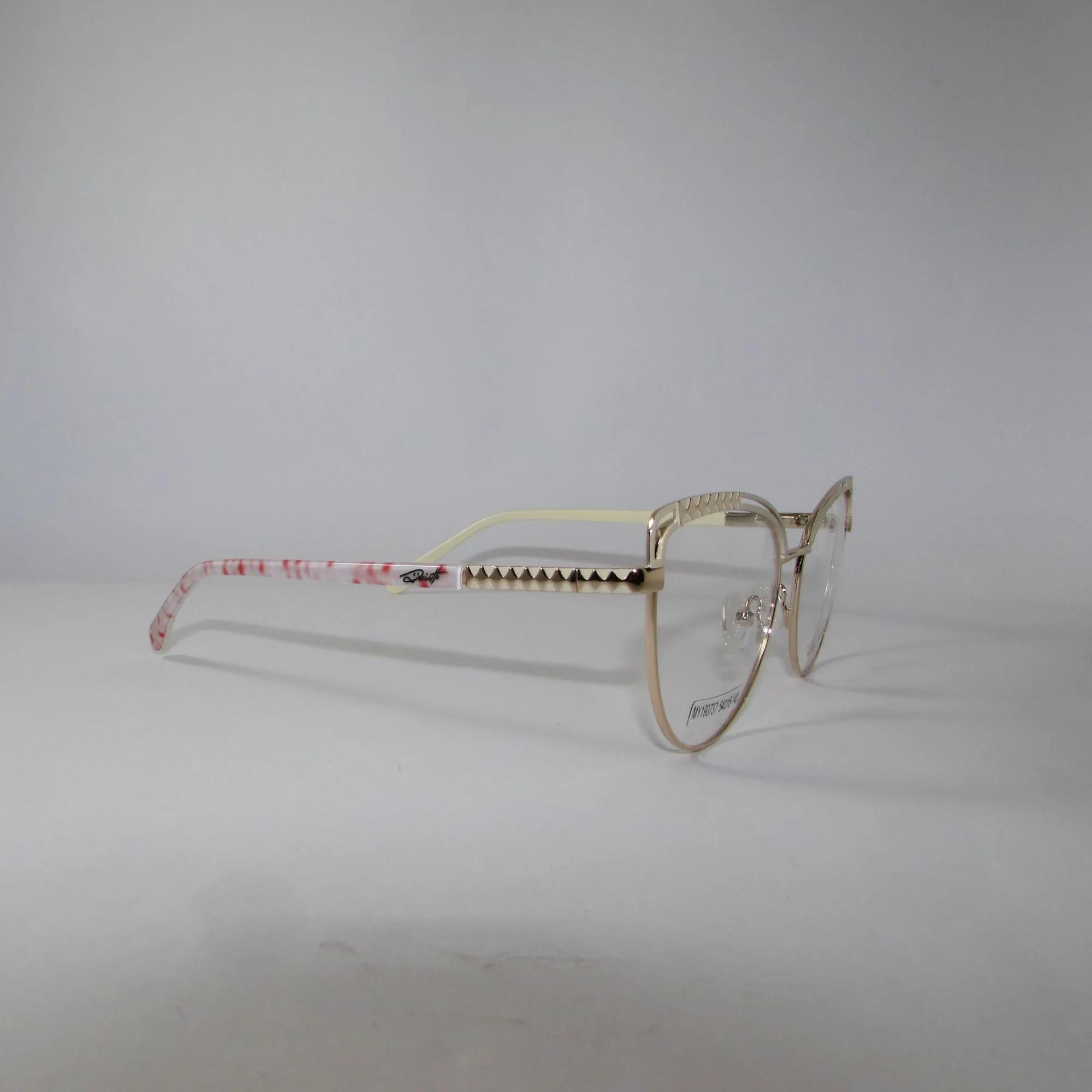 Armação para óculos de grau Feminino- Branco Creme