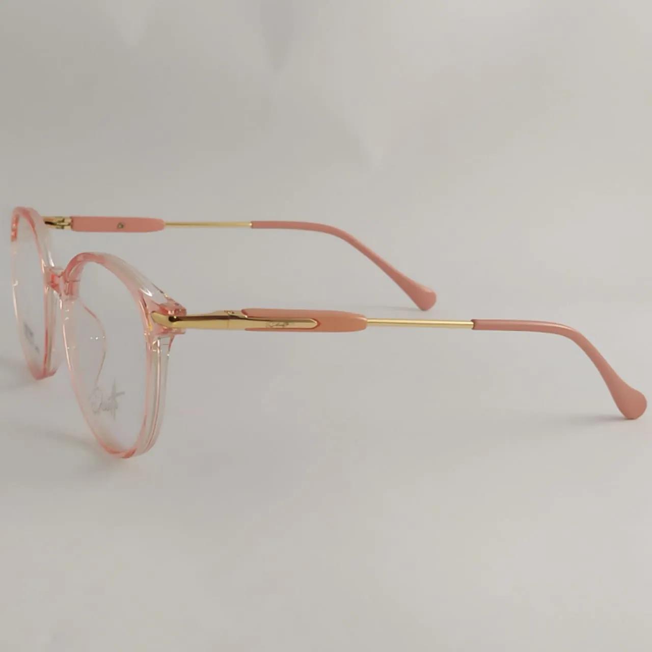 Armação para óculos de grau infantil - Feminino- Rosa