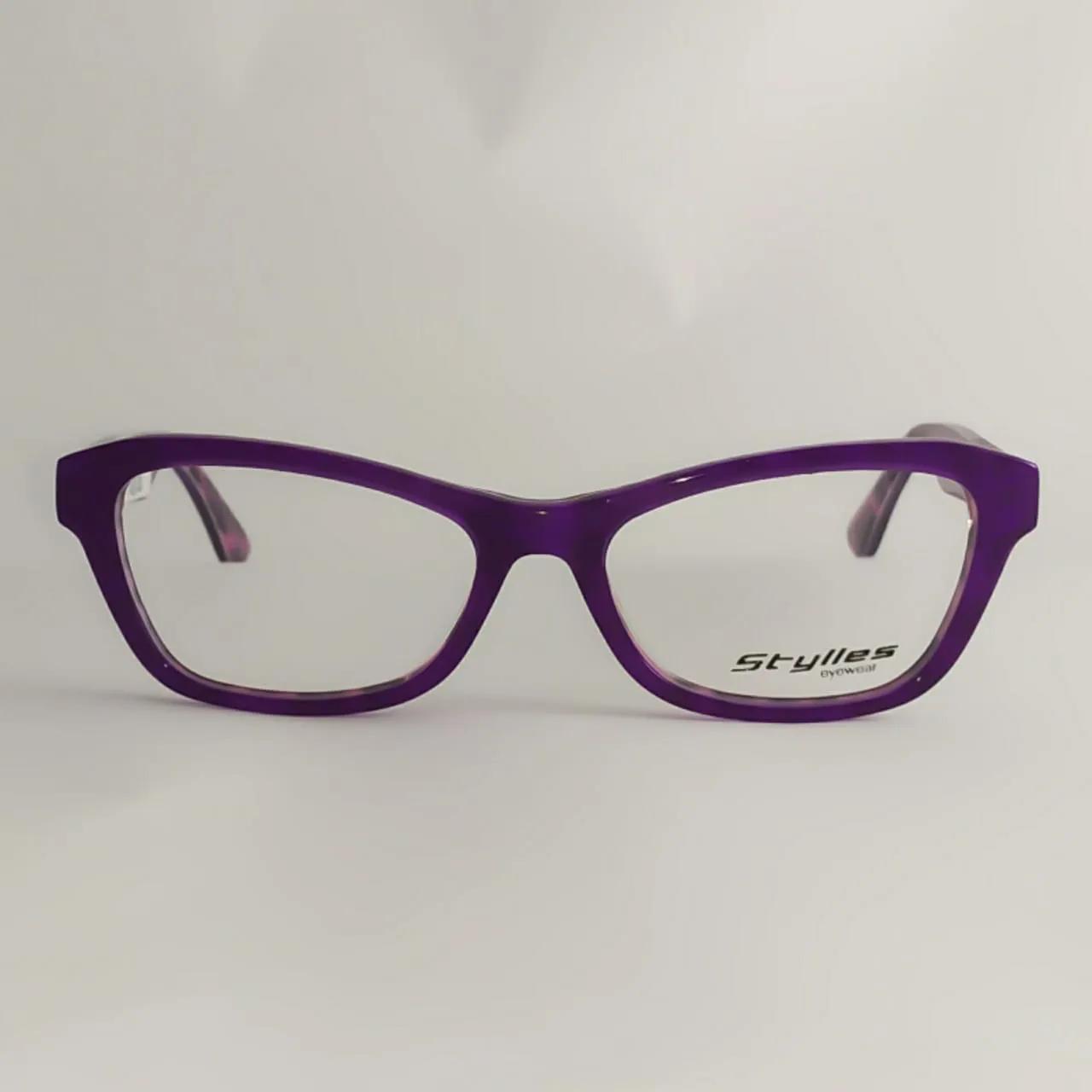 Armação para óculos de grau infantil- Roxo