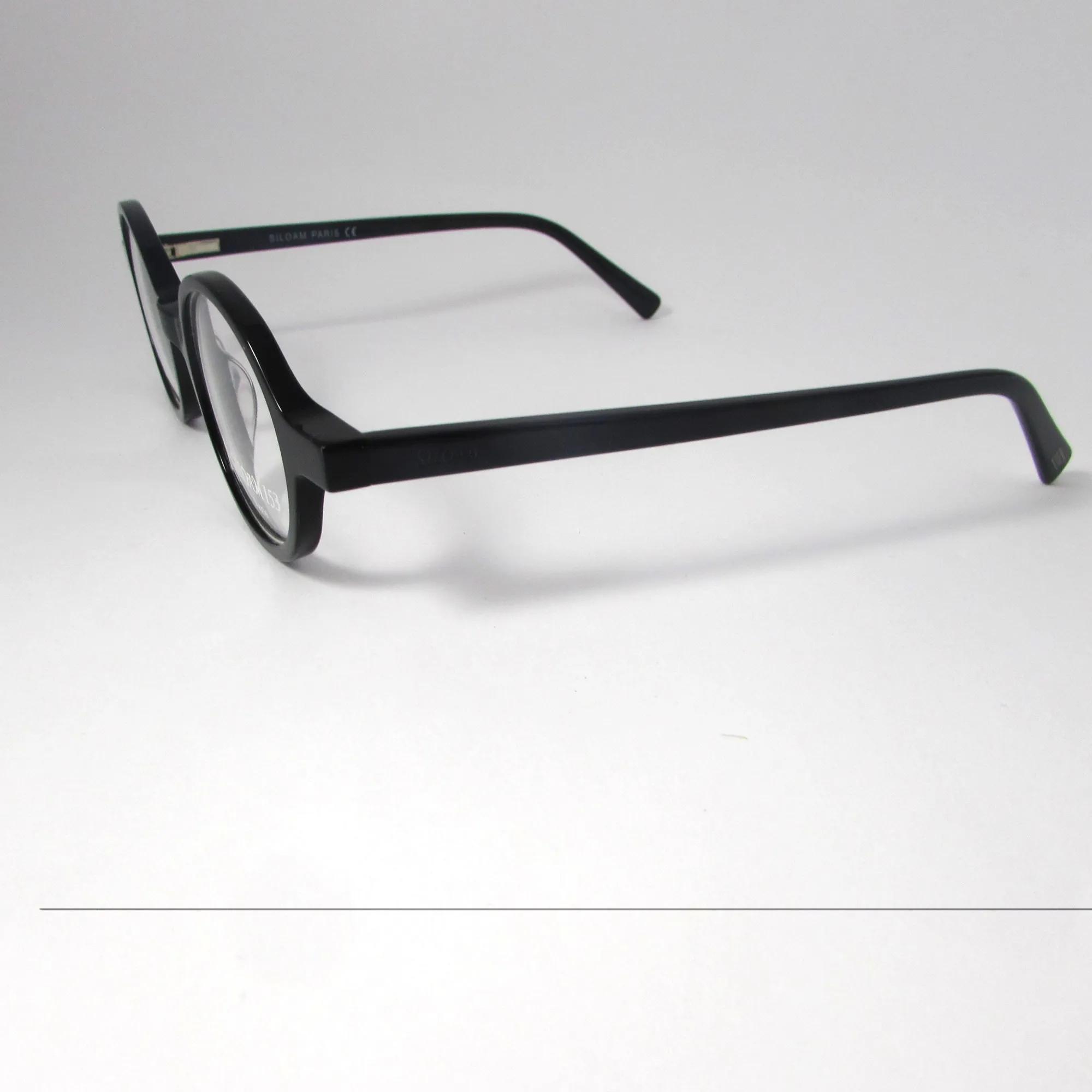 Armação para Óculos de Grau Siloam- Preto redondo