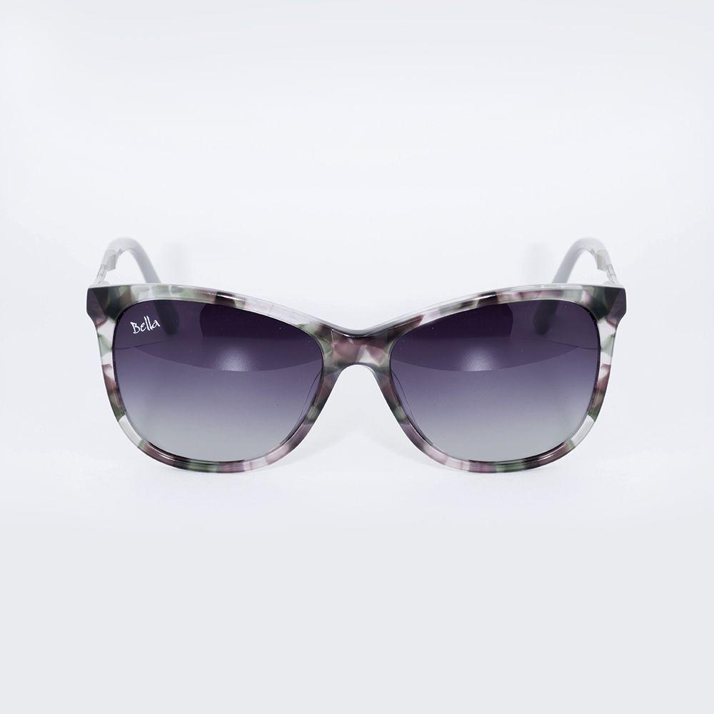 Óculos de Sol Tartaruga Cinza Bella MB 2226 - Óticas de Sá 120797f3f0