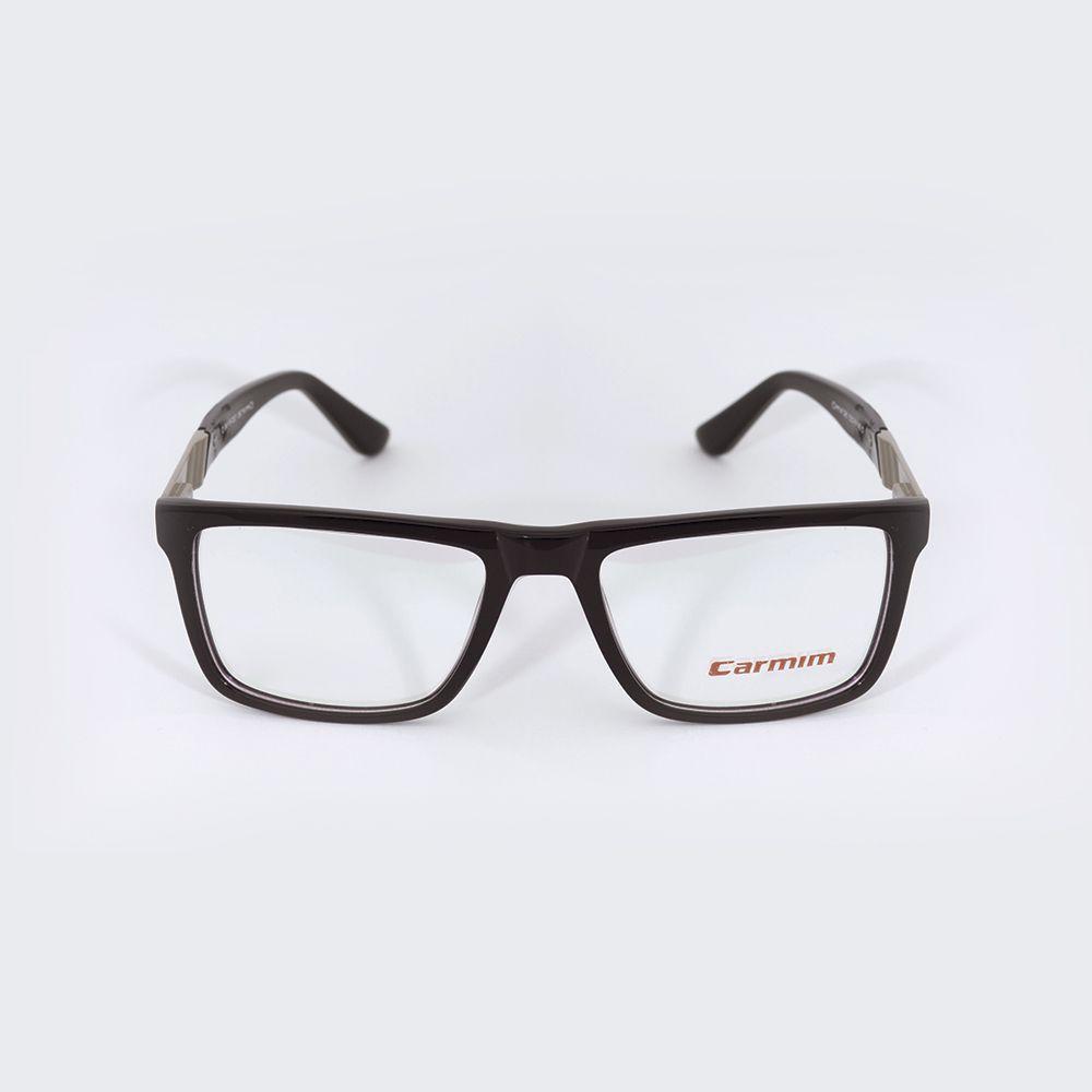 Óculos de Grau Carmim Preto Quadrado 41095