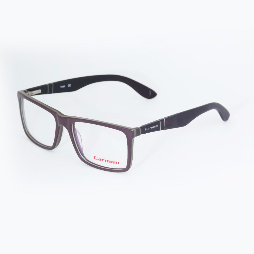 Óculos de Grau Carmim Marrom Quadrado 41122