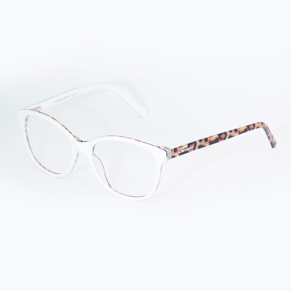 Óculos de Grau Carmim Gatinho Branco 41204