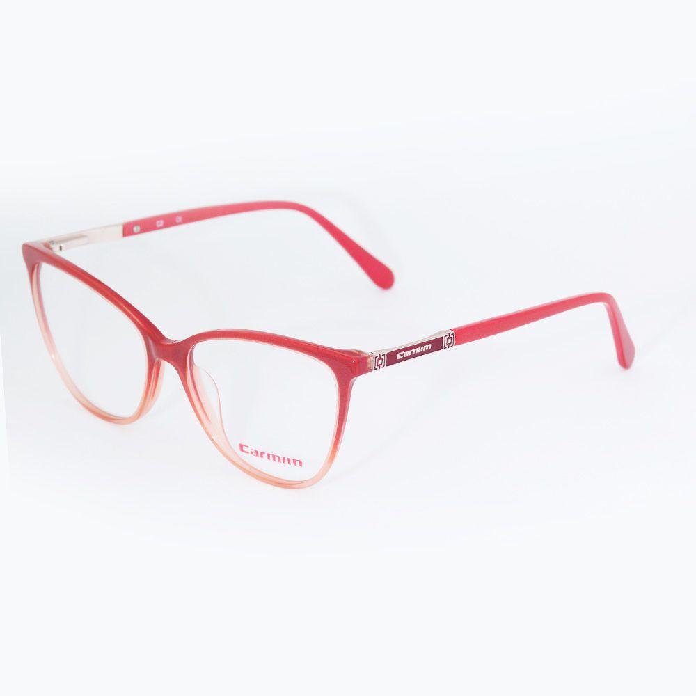 Óculos de Grau Carmim Gatinho Vermelho Degrade 41218