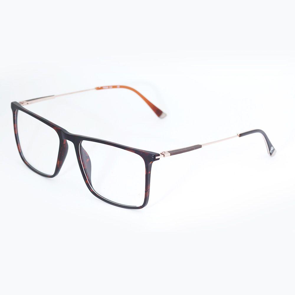 Oculos de Grau Marrom Cafe Fosco Carmim 41237 140