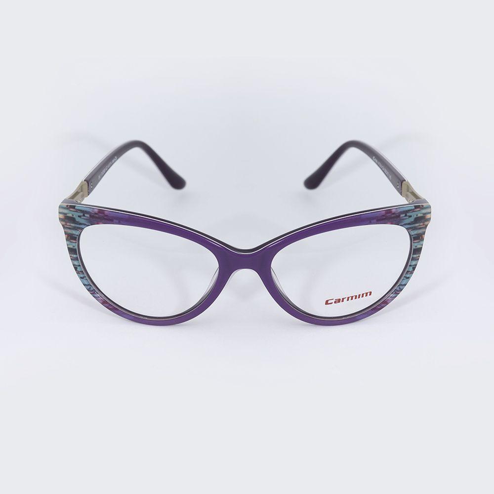 Óculos de Grau Carmim Gatinho Roxo 41341