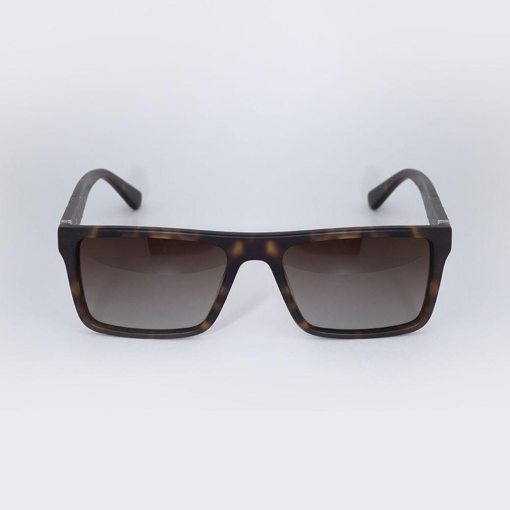 Óculos de Sol Carmim Marrom Fosco Tartaruga 42108