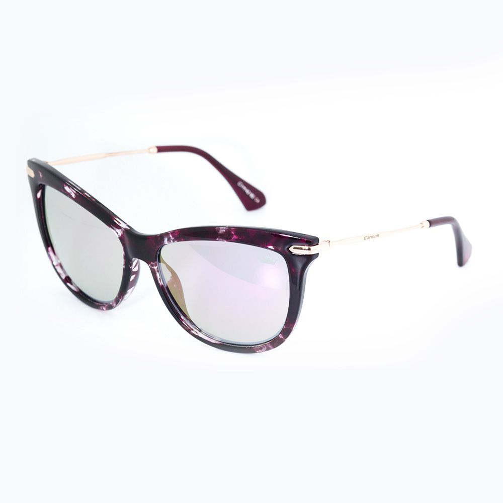 c7688d4d9 Óculos de Sol Carmim Bordo Brilhante 42182 - Óticas de Sá