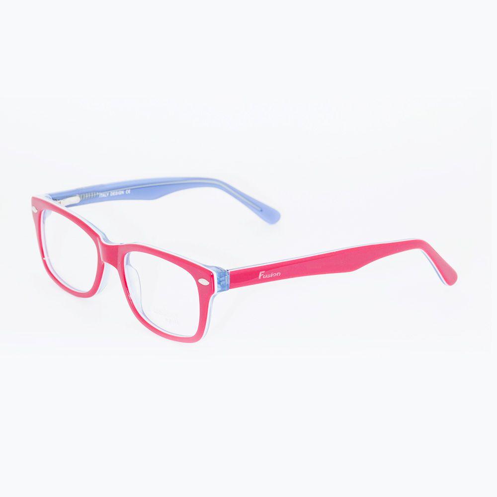 Óculos de Grau Fusion Vermelho Brilhante BC6005