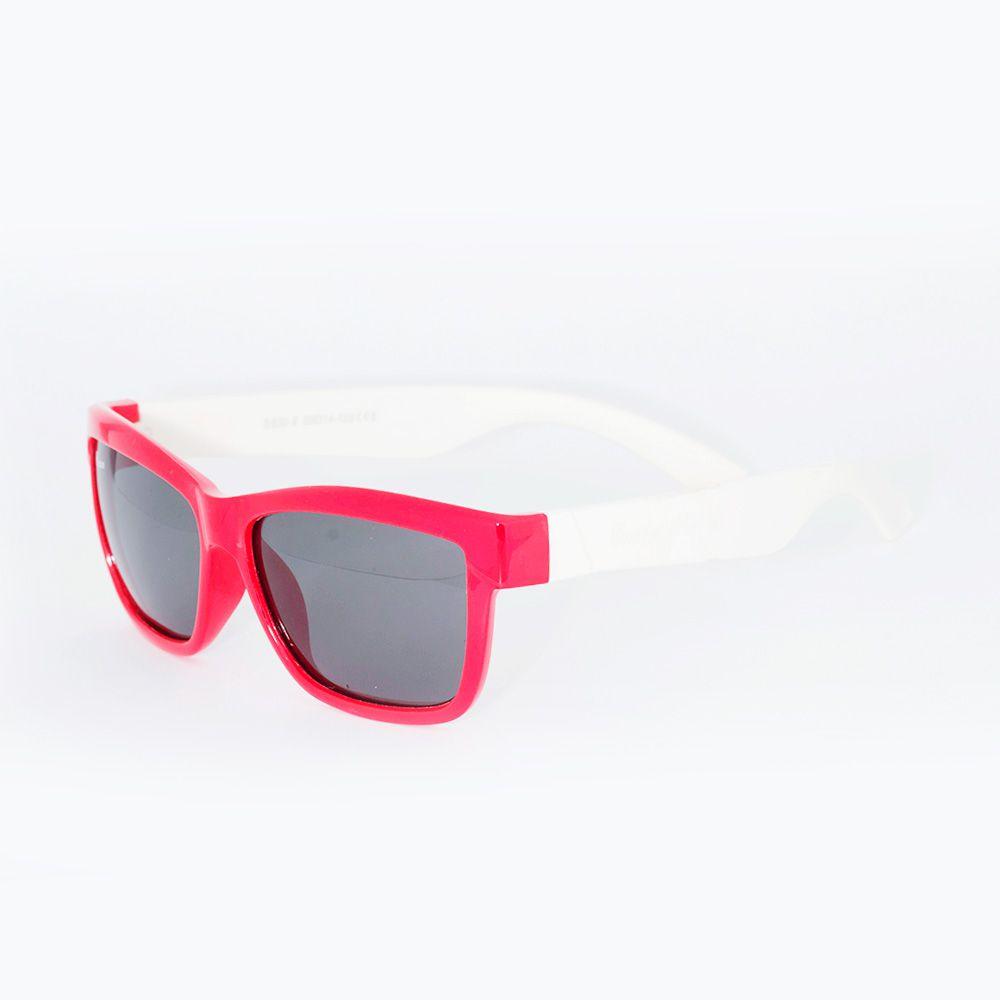 Óculos de Sol Fusion Acetato Siliconado Vermelho S830