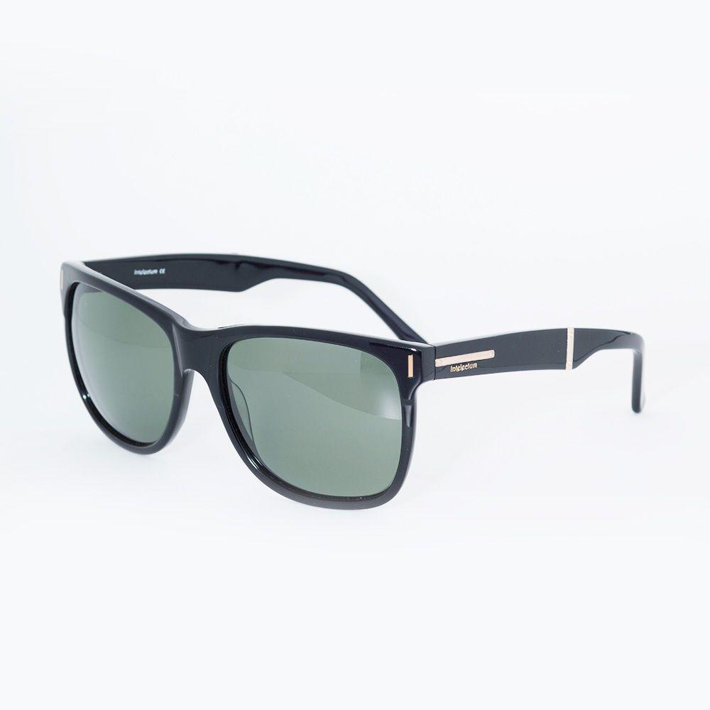 Óculos de Sol Intelectum Preto Brilhante IN2006