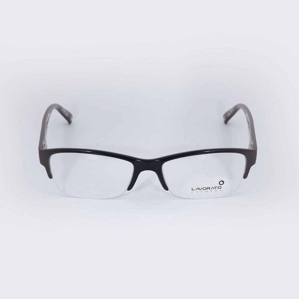 Óculos de Grau Lavorato Preto LL082