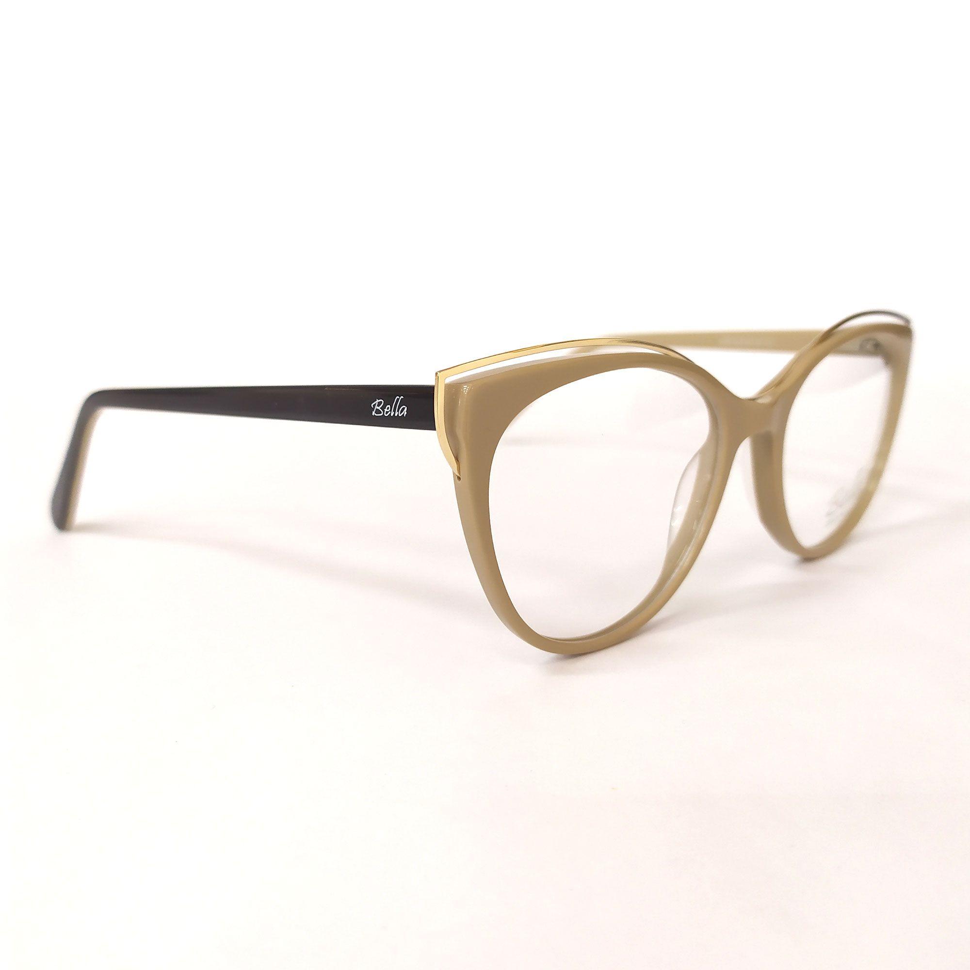 Óculos de Grau Bella Nude 6069