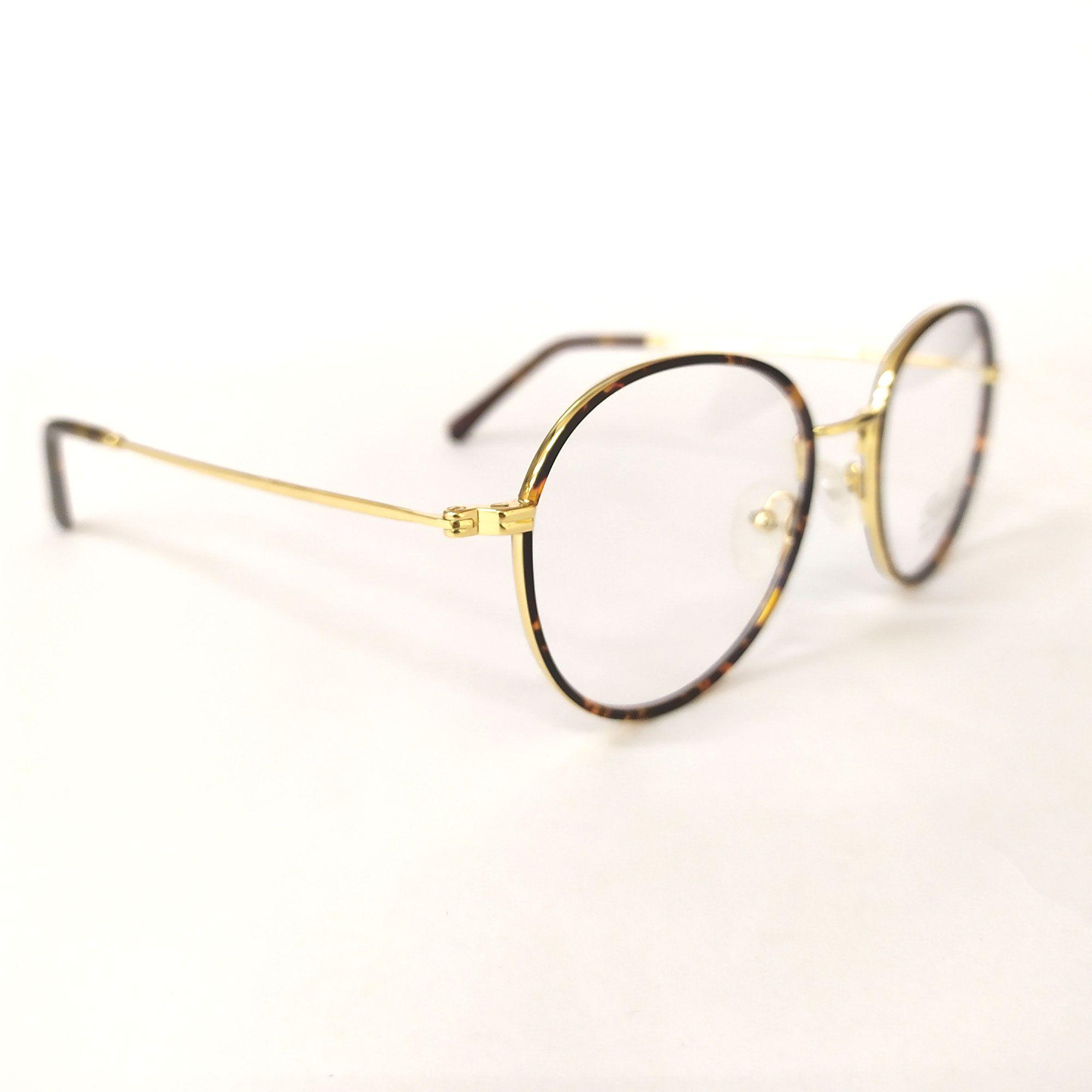 Óculos de Grau Bella Tartaruga e Dourado YS3581