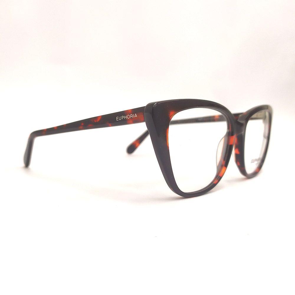 Óculos de Grau Euphoria Denin Marrom RM1718