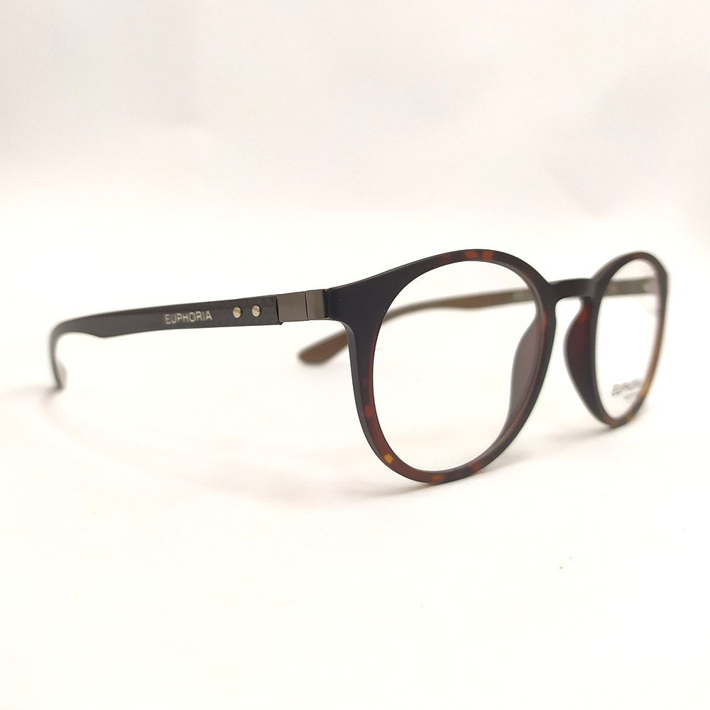 Óculos de Grau Euphoria Havana Tartaruga 0551
