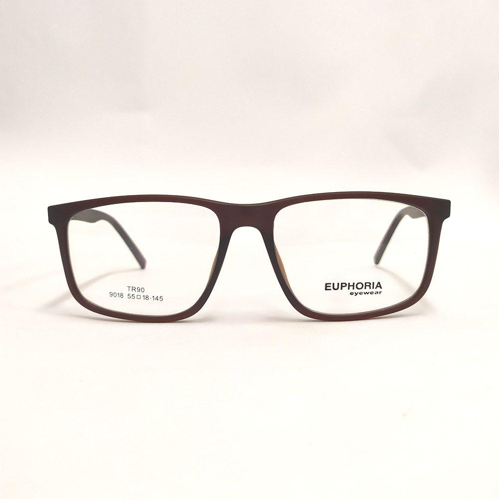 Óculos de Grau Euphoria Marrom 9018