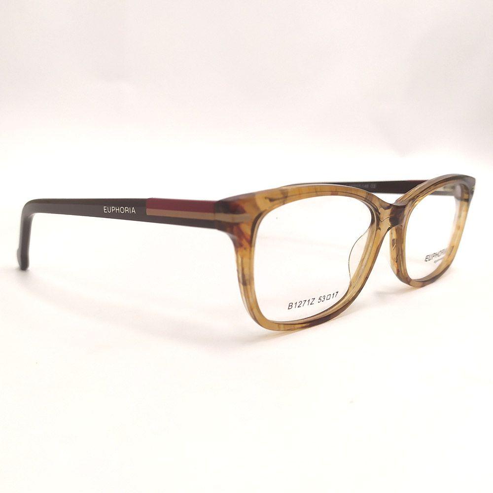 Óculos de Grau Euphoria Marrom B1271Z