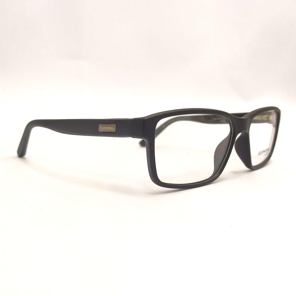 Óculos de Grau Euphoria Preto 5014