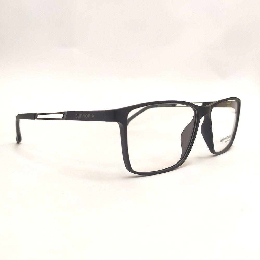 Óculos de Grau Euphoria Preto 89075
