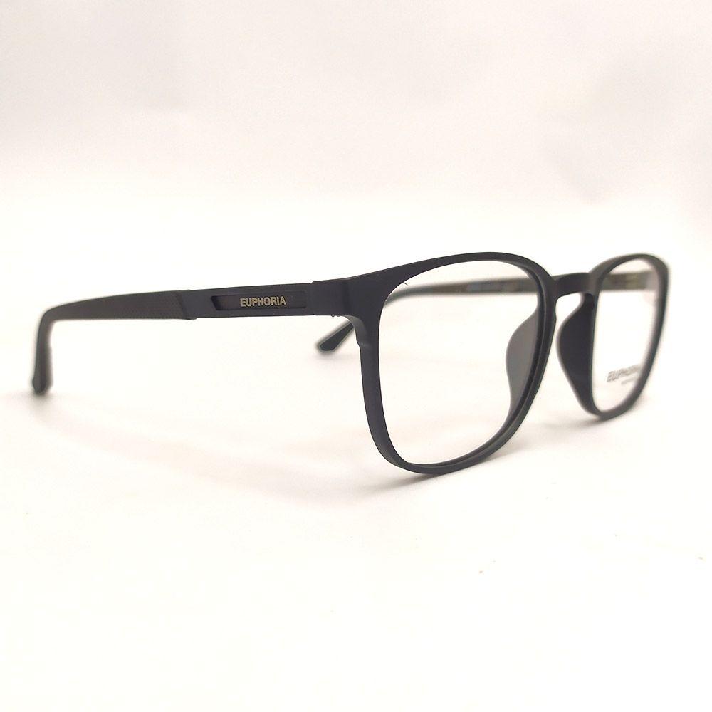 Óculos de Grau Euphoria Preto 89083