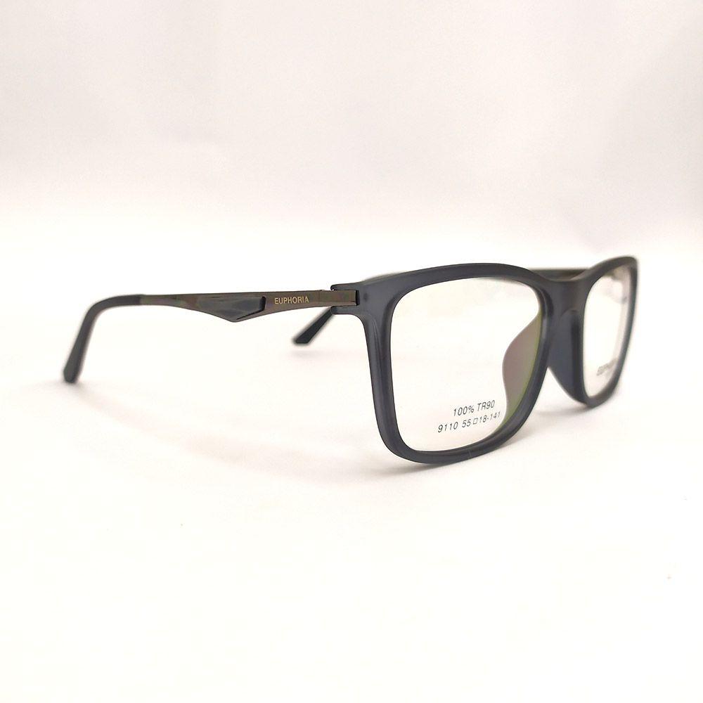 Óculos de Grau Euphoria Preto 9110