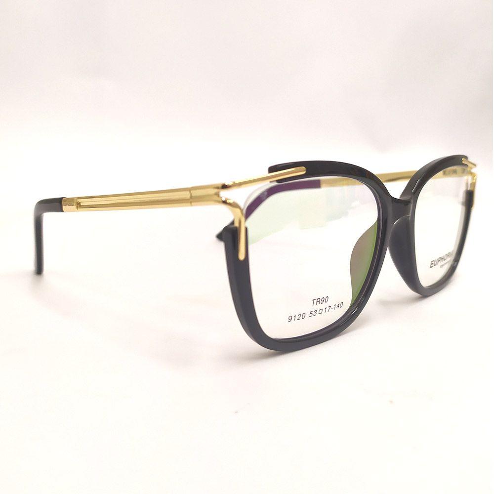 Óculos de Grau Euphoria Preto 9120
