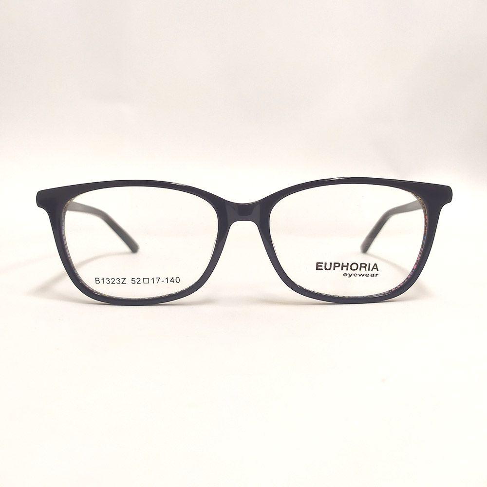 Óculos de Grau Euphoria Preto B1323Z