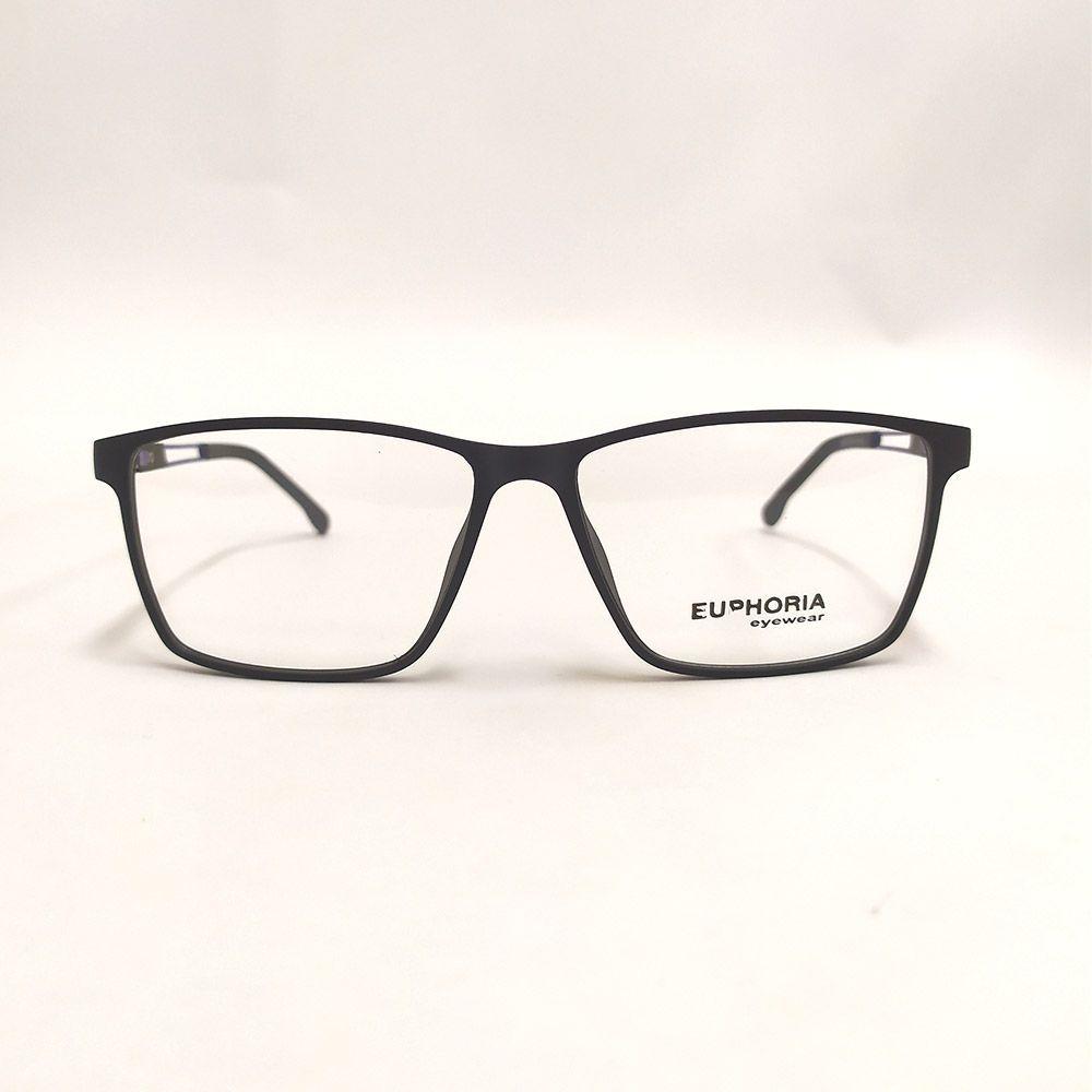 Óculos de Grau Euphoria Preto e Azul 89075