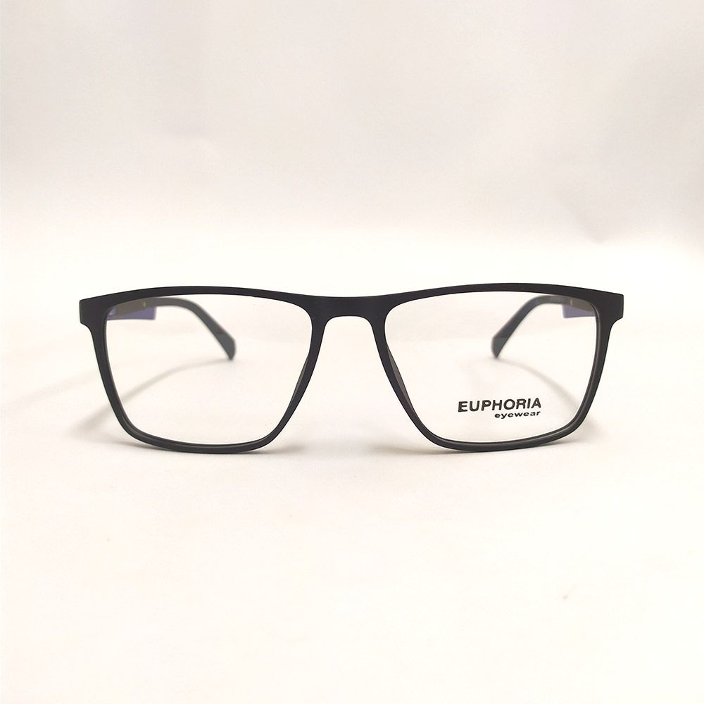 Óculos de Grau Euphoria Preto e Azul 89079