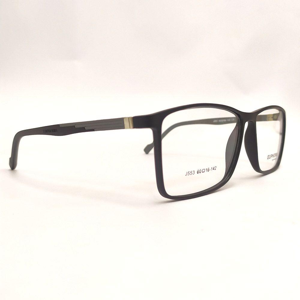 Óculos de Grau Euphoria  Preto J553