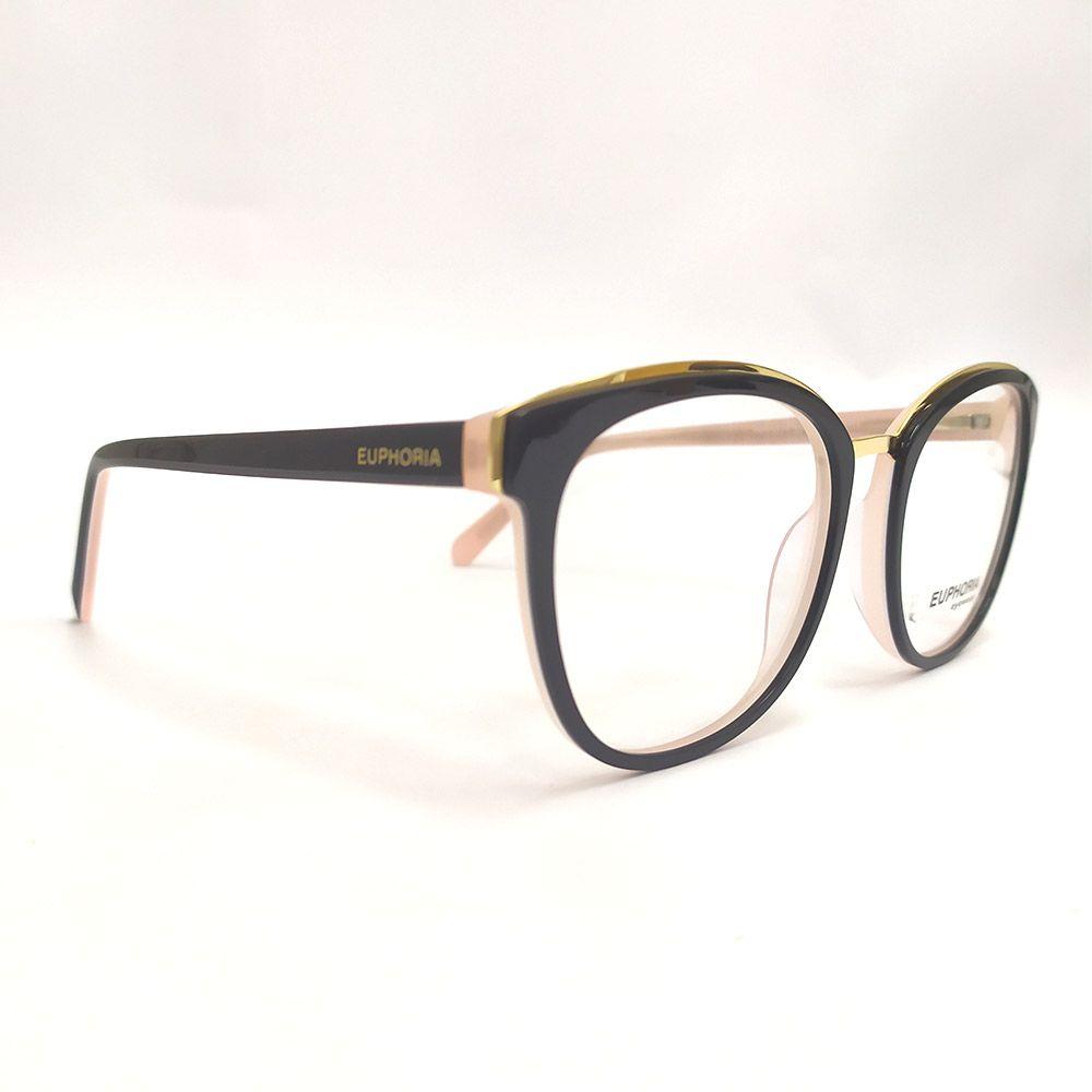 Óculos de Grau Euphoria Preto RM10021